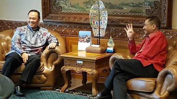 Ary Ginanjar, Menteri Pariwisata, Arief yahya