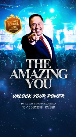 ESQ Amazing You, Ary Ginanjar Agustian